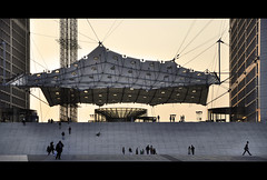 epic (Aleksandar Shavikin) Tags: people paris france architecture arch ladfense lagrandearche