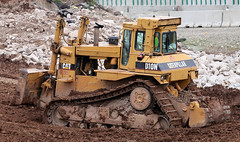 Caterpillar D10N Dozer (Winglet Photography) Tags: road building wisconsin cat project construction highway mud 45 caterpillar dirt clay dozer diggers worksite dig bulldozer digger earthmover 41 oshkosh interchange stockphoto rebuilding earthmoving d10 highway41 d10n hy45 hy41 hy10 georgewidener georgerwidener