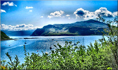 Scotland West Highlands island of Skye a view from a Portree walk by Anne MacKay (Anne MacKay images of interest & wonder) Tags: west skye by island anne scotland highlands view walk picture mackay portree
