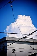 number 2 before summer cloud (Sudachi) Tags: summer clouds aomori 夏 青森 入道雲