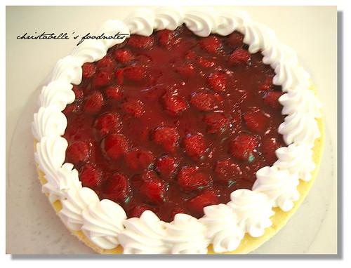 Costco草莓起司蛋糕