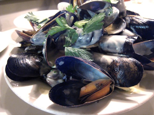 Mussels, Pearl Oyster Bar