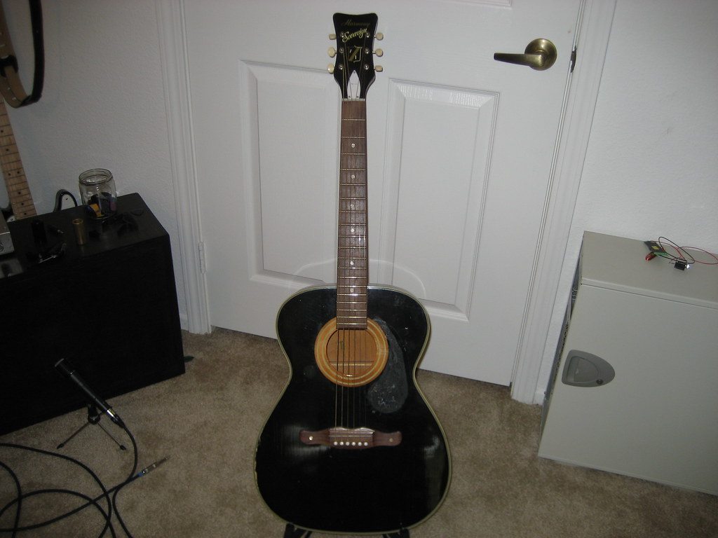 Harmony H164 Acoustic Guitar Repair Projects Audio Artillery