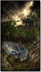 (☑ ☥░▒☣Divine Rapier☣▒░☥☠☄) Tags: china street sky hk cloud tree art kitchen grass st wall forest hongkong graffiti natural tag chinese hong kong handheld graff mic 香港 tagging kb hdr hkg swat vfav 掃桿埔