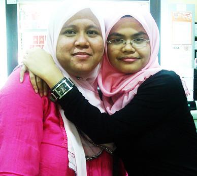with kak Maya