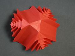 Marugation in red, bottom