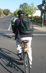 Mountain View bike commuters
