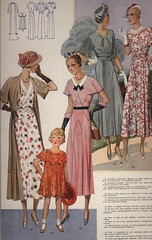 1933 French Clothing Catalog