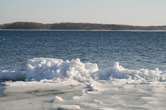 Broken river ice on the St. Lawrence River at Long Sault Ontario (deanspic) Tags: ice water breakup stlawrenceriver