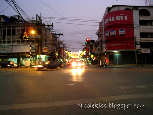 main roads in chiang rai
