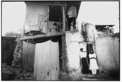 Slum house in India