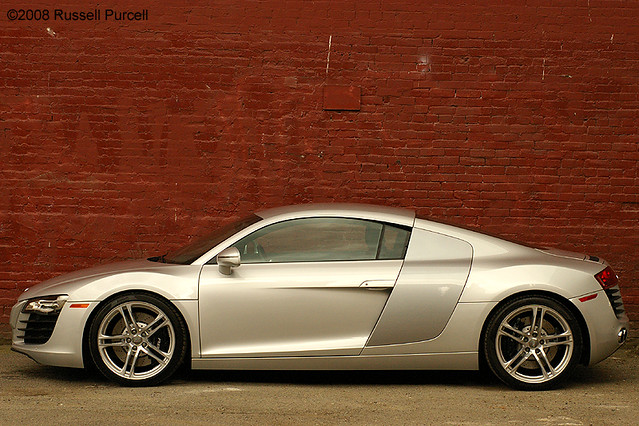 auto car speed silver germany fast german supercar v8 2008audir8 ©russellpurcell ©2009russellpurcell russpurcell russellpurcell
