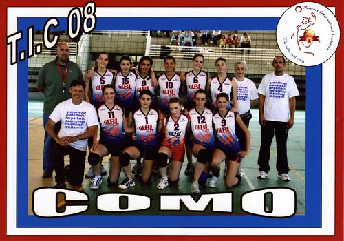 La selezione di Como al torneo di Vitrolles 2008