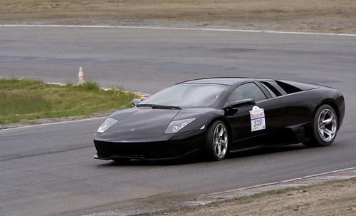 Drifting a Lamborghini Murciélago LP640