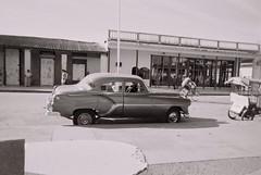 Cool car in Moron , eastern Cuba (knightbefore_99) Tags: people blackandwhite white black classic car island freedom cuba castro revolution tropical caribbean cuban