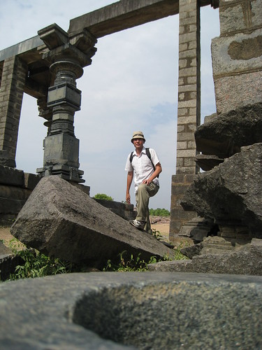 Indiana Jones at Warangal