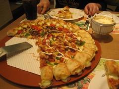 Pyeongtaek Pizza Hut cheese bite pizza