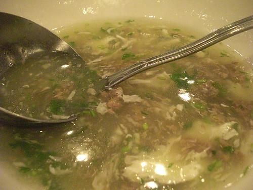 Beef Egg Drop Soup