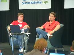 Danny Sullivan Interviews Matt Cutts, SMX Advanced 08
