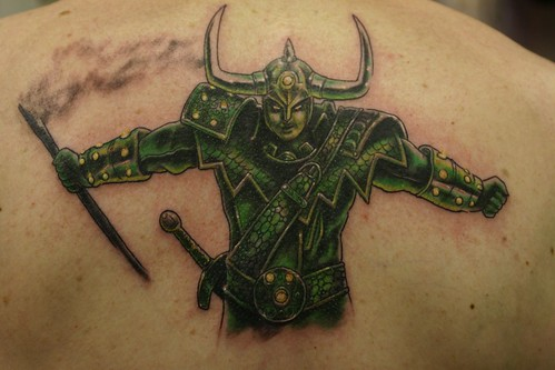 Loki Tattoo by The Tattoo Studio. Tattooed by Ray at The Tattoo Studio,