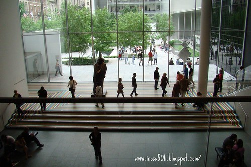 MOMA-從2樓看中庭
