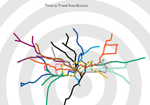 interactive travel time tube map (focus + context display) - http://www.tom-carden.co.uk/p5/tube_map_travel_times/applet/