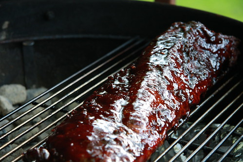 Baby Backs with Hoisin Barbeque Sauce