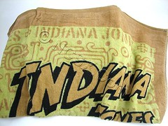 Indiana Jones Towels from Japan (Andeveron) Tags: japan towels indianajones