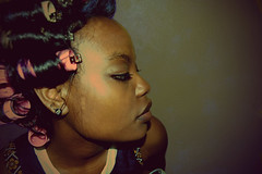 (Naomi Stelrose Photography) Tags: hair rollers hairrollers hairsetting