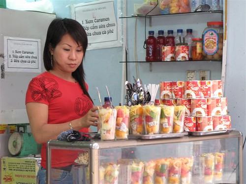 street food cooler