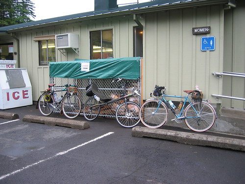Bikes at the Promontory Point store