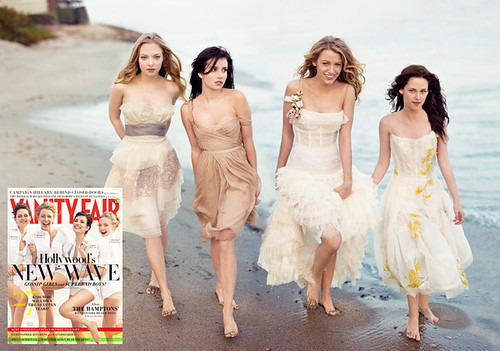 vanity fair young hollywood cover girls