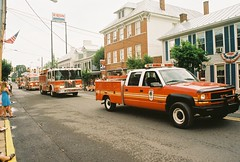 New Market Fire and Rescue at Fourth of July Parade