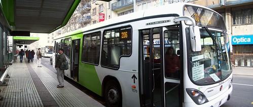 [Panorámica] Bus 206 en ET Santa Lucía por ti.