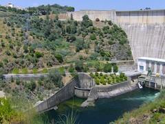 Castelo do Bode dam (Patrcia Marques) Tags: do dam castelo barragem bode dike