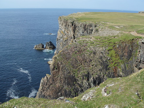 Coastline west of the Butt of Lewis