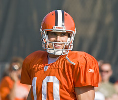 Brady Quinn (John_K.) Tags: people football browns bradyquinn clevelandbrowns2008trainingcamp