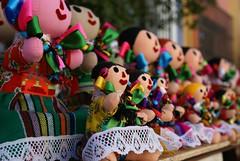 Artesanas (chblet) Tags: mxico guadalajara jalisco colores distillery trapo artesana tlaquepaque muecas 100 flickrcolour chablet colorfullaward colorsinourworld