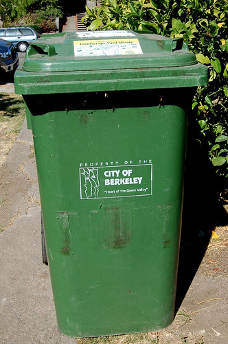 Green Bin Provided by the City