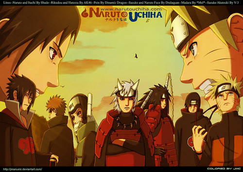Naruto, Sasuke and the Gang