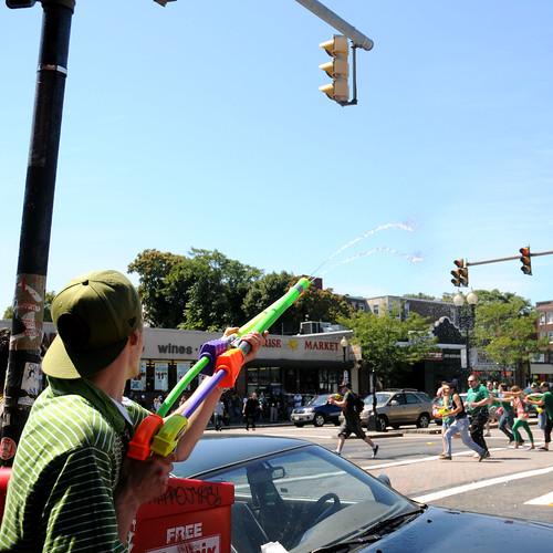 Allston Squirt Gun Day