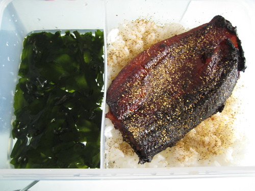 BBQ Eel and Seaweed Lunch