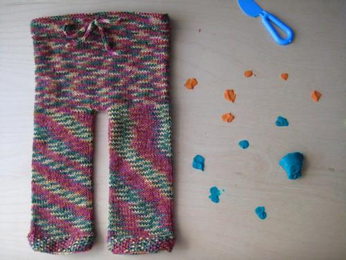 Pantalón para o bebé
