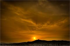 Barcelona sunset (HDR)
