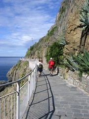First Inter-Village Walk (ohwhatachristy) Tags: 2005 travel italy europe september backpacking cinqueterre liguriansea riomaggiore rivieradilevante rockycoastline