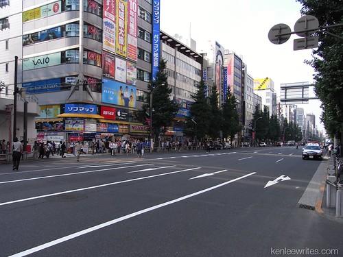 A walk in Akihabara