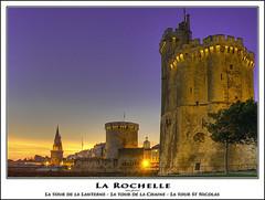 La Rochelle - La tour St Nicolas (@lain G) Tags: port tour olympus larochelle bateau nuit voilier charentemaritime cotre bateaudepêche