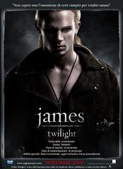 James Poster [Italian] (withlove.erin) Tags: robert film movie poster james book promo swan twilight cam edward stewart kristen sega series bella cullen pattinson