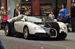 Panda (johnthescone) Tags: auto cars car manchester panda bugatti veyron bugattiveyron creditcrunch legalplates