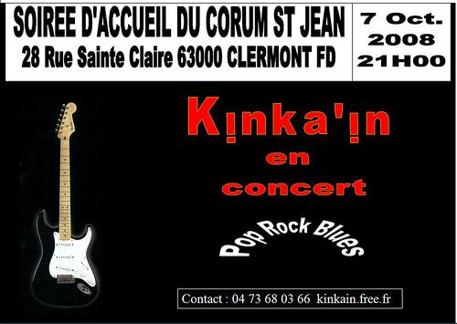 kinka'in en concert le 7 Octobre 2008